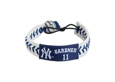 New York Yankees MLB Leather Wristband