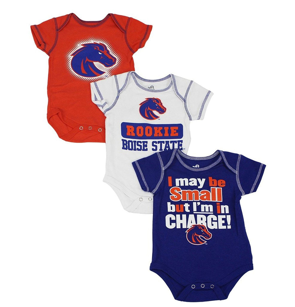 Outerstuff Baby Boise State Broncos 3 Piece Creeper Set