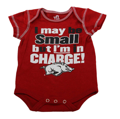 OuterStuff Arkansas Razorbacks Baby Clothing, University 3 Piece Creeper Apparel Set