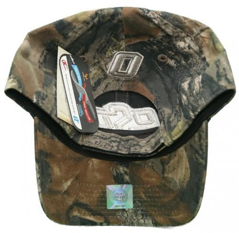 Oklahoma State University Cowboys Velcro Back Hat Embroidered Camo Hat