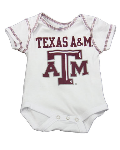 OuterStuff Baby Texas A&M Aggies Next Big Thing 3 Piece Creeper Set