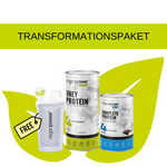 Transformationspaket Basic (1 veganpower Shaker GRATIS) - veganpower