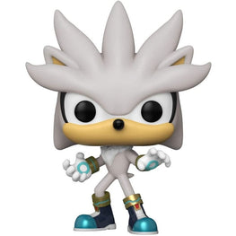 Funko POP! Vinyl Games Sonic 30th Silver The Hedgehog