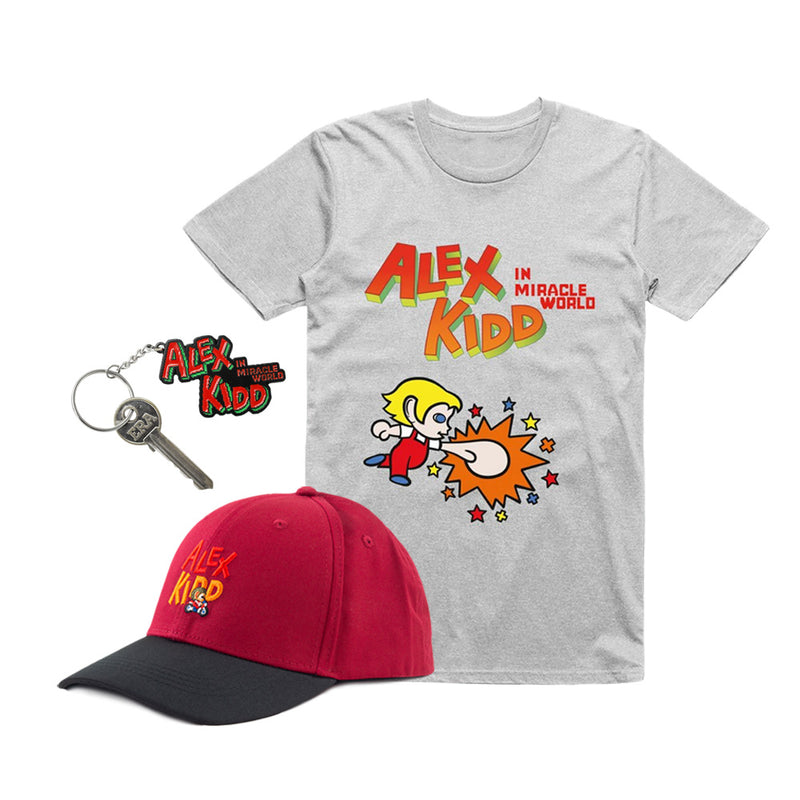 Alex Kidd in Miracle World Punch Raglan Bundle