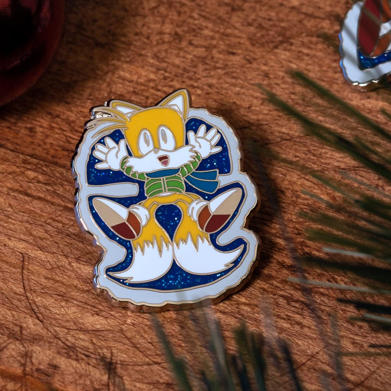 Pin Kings Classic Sonic the Hedgehog Christmas Enamel Pin Badge Set 1.1