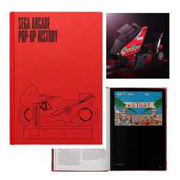 Official SEGA Arcade: Pop-Up History Book