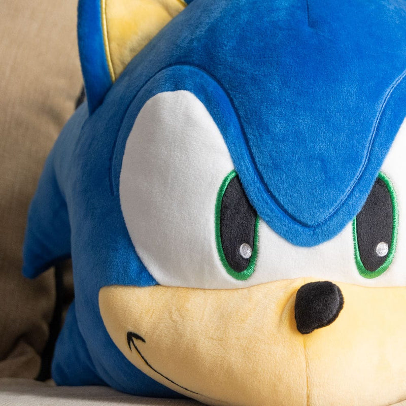 "Official Sonic The Hedgehog Mocchi Mocchi Huge 38cm (15"") Sonic Head Plush"