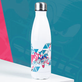 Official Modern Sonic the Hedgehog 'Remix' Bowling Pin Style Water Bottle