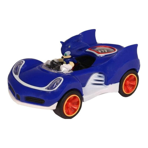 Official Sonic the Hedgehog All Stars Racing Transformed Pull Back Car