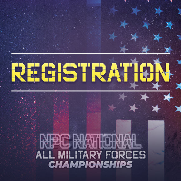 National All Military Registration - Coming Soon!