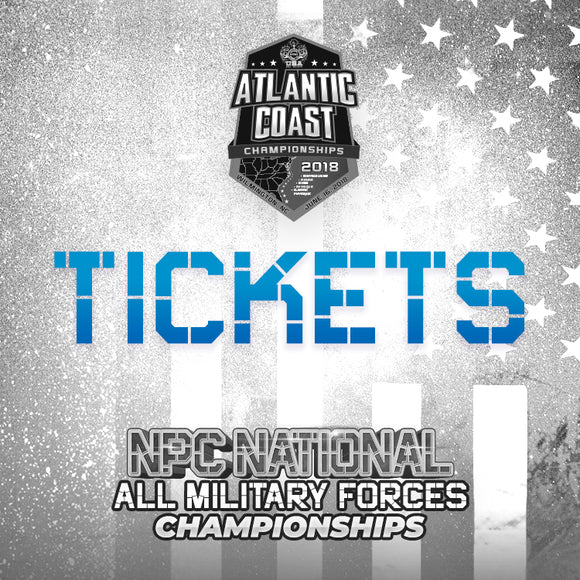 Atlantic Coast/All Military Tickets - Coming Soon!