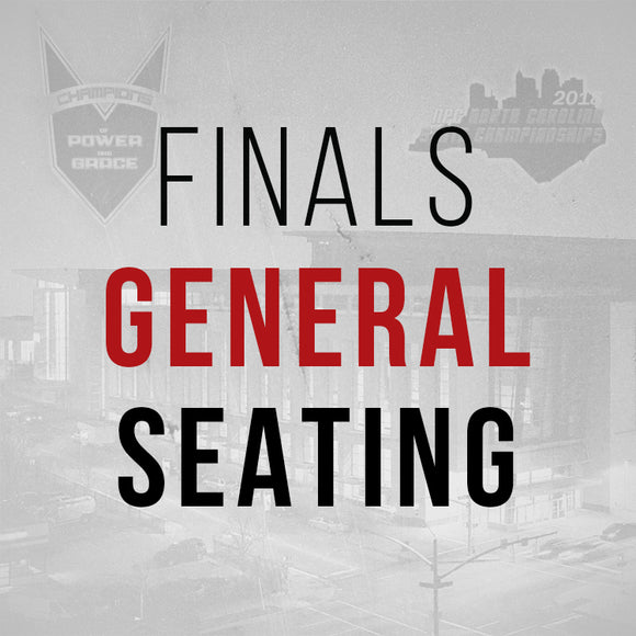 Finals - General Seating