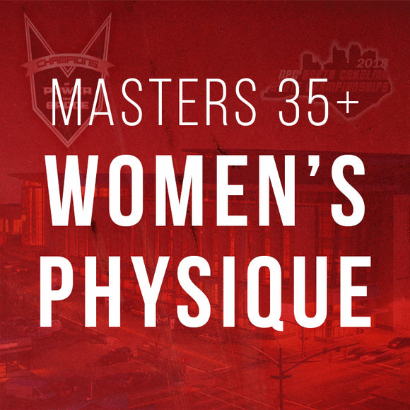 Masters Women's Physique 35+
