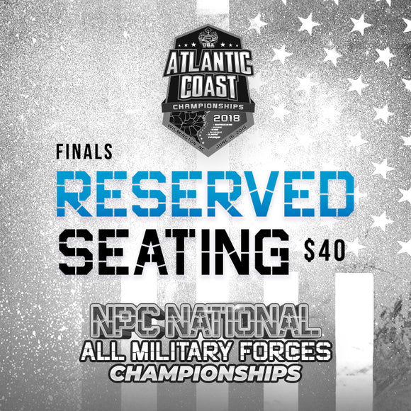 Atlantic Coast Tickets Finals - Reserved Seating- $40