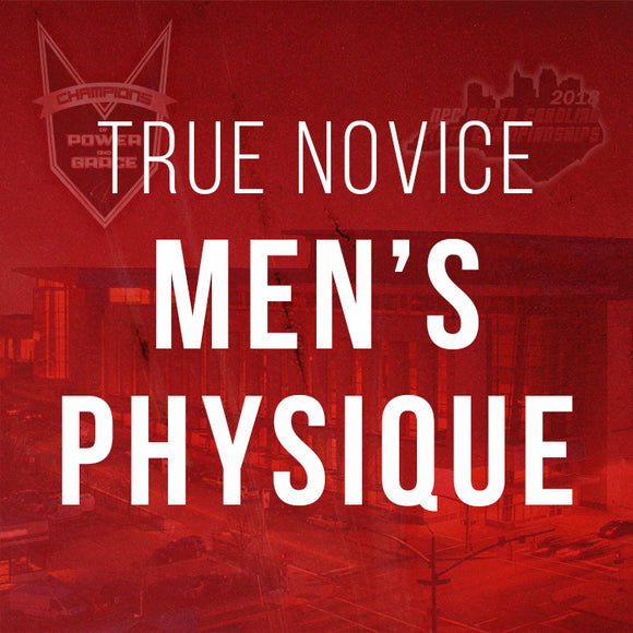 True Novice Men's Physique