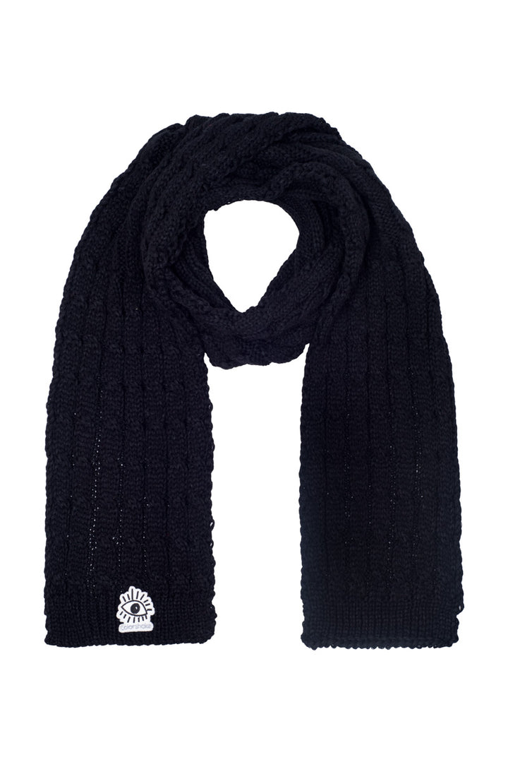 Szalik Scarf <span> Eyes Black</span>