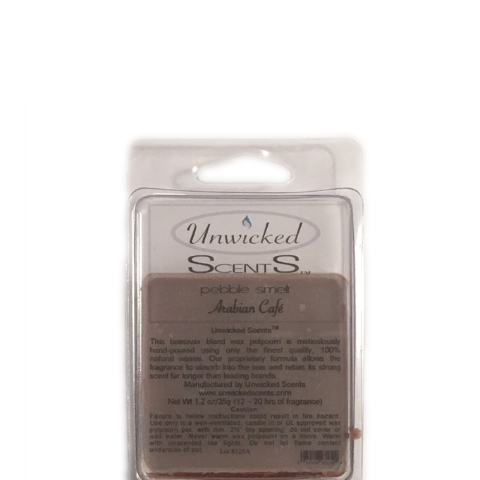 Unwicked Scents Pebble Melt - Arabian Café