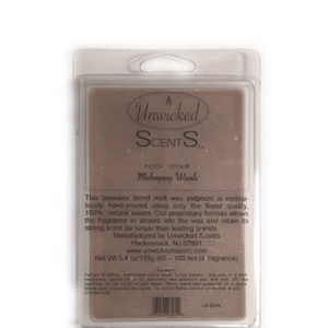 Unwicked Scents Rock Melt - Mahogany Woods