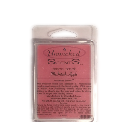 Unwicked Scents Stone Melt - McIntosh Apple