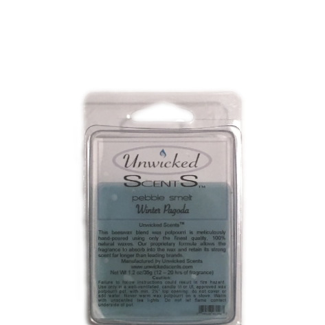 Unwicked Scents Pebble Melt - Winter Pagoda