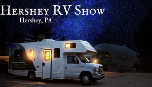 Come visit us at America's Largest RV Show in Hershey, Pennsylvania!