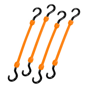 "12"" Easy Stretch Bungee Cord 4 Pack - The Perfect Bungee, Bihlerflex, Bungee"