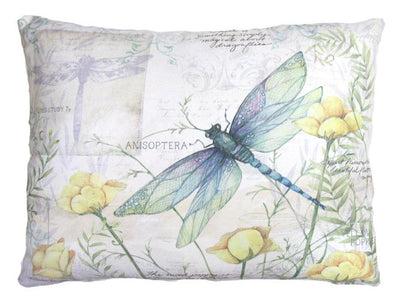 Dragonfly Outdoor Accent Pillow