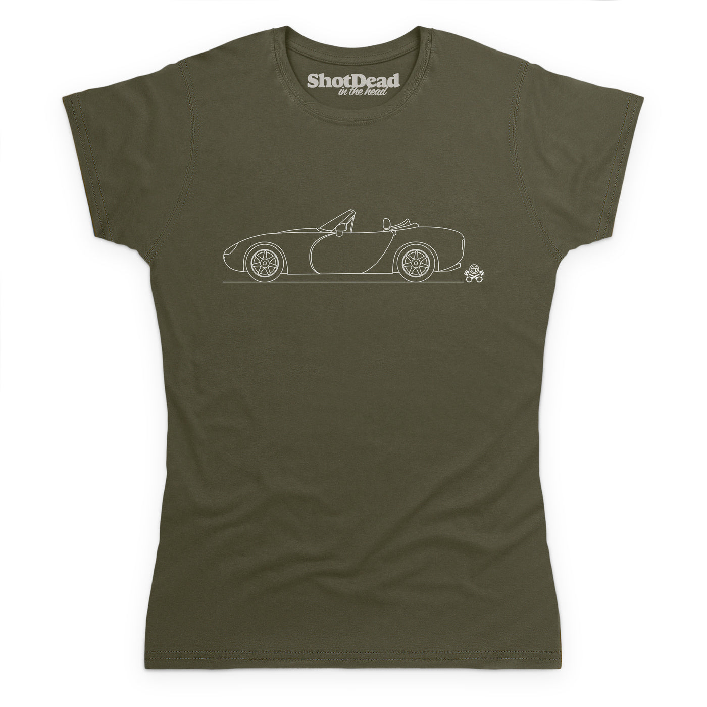 Style: Female, Color: Olive Green.