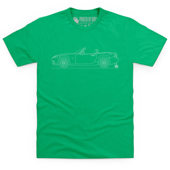 Style: Male, Color: Celtic Green.