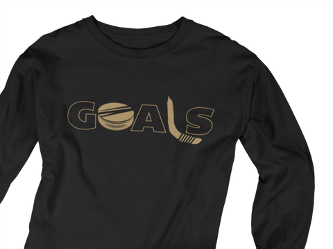 Golden Goals Long Sleeve Unisex Shirt