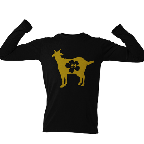 Golden Goat Flower 29- Long Sleeve