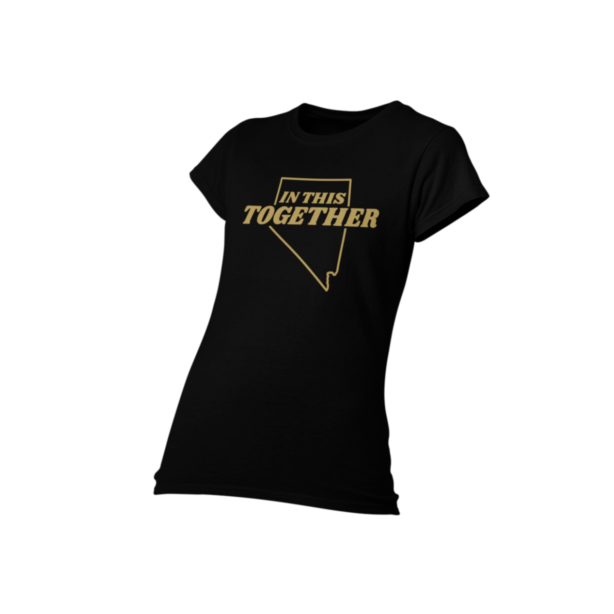 In This Together Nevada Shirt Gold