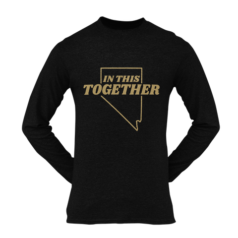 In This Together Gold Long Sleeve Unisex Shirt