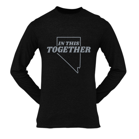 In This Together Silver Long Sleeve Unisex Shirt