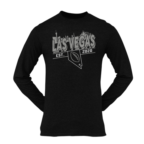 Las Vegas Football Est. 2020 Long Sleeve Unisex Shirt