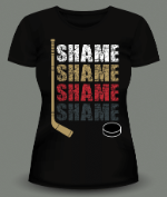 Shame Shame Hockey Shirts