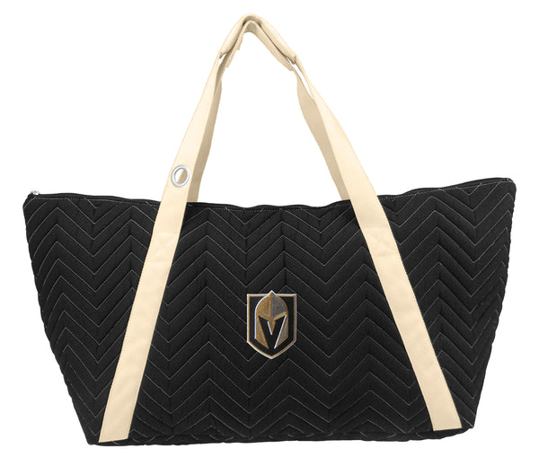 VGK Vegas Golden Knights Chevron Stitch Weekender Bag