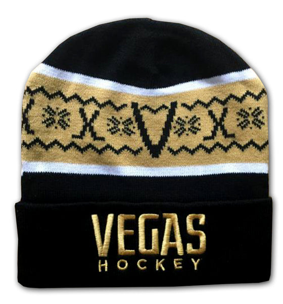 Vegas Hockey Knit Hat
