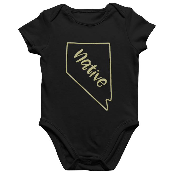Gold Native Onesie