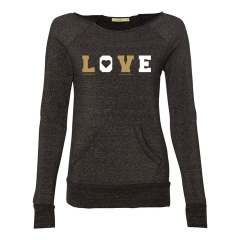 Love LV - Ladies' Eco-Fleece