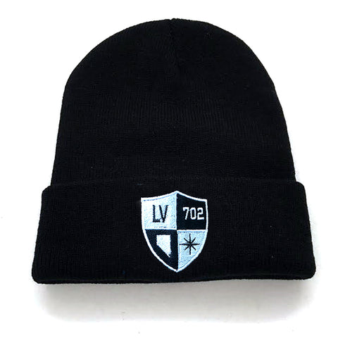 Vegas Shield Knit Hat