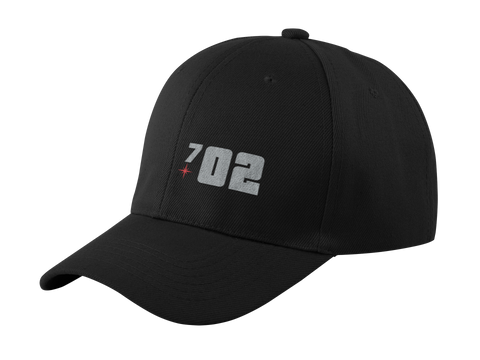 702 Silver Football Hat