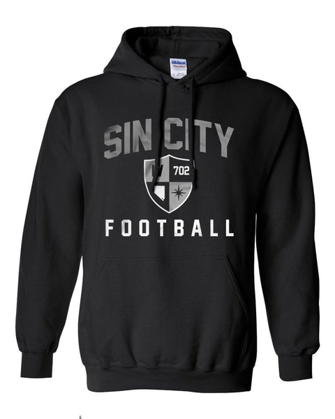 Sin City Football - Adult Hoodie