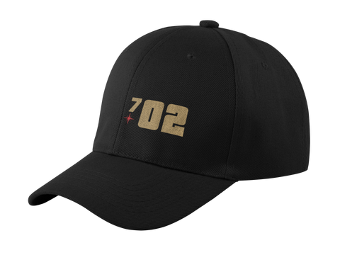 702 Gold Hockey Hat