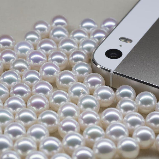 Akoya Loose Pearl Wholesale 4.5-9.5mm for Jewelry Making DIY China Factory B9LPAK1001