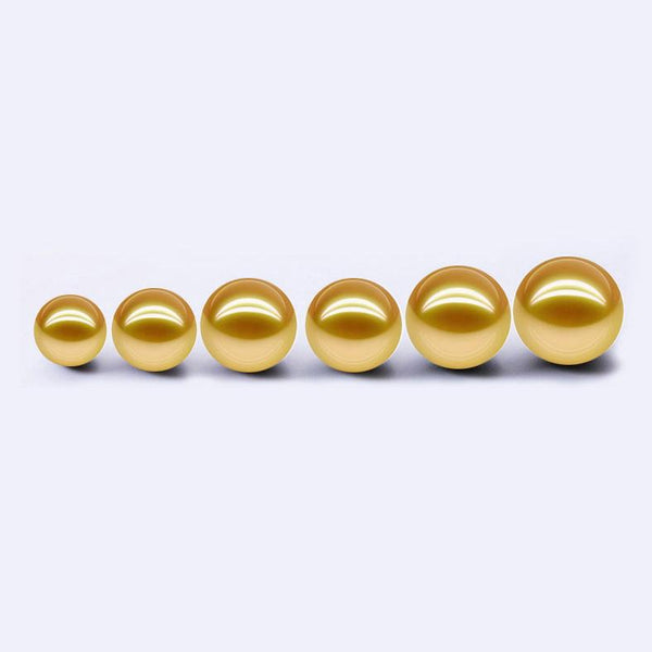 Golden South Sea Loose Pearl Wholesale 9-15mm for Jewelry Making DIY China Factory B9LPSS1001