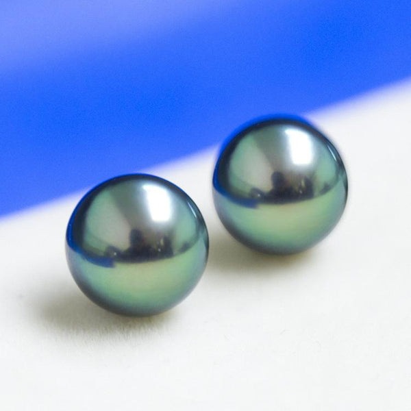 Green South Sea Peacock Tahitian Loose Pearl Wholesale 8-11mm for Jewelry Making DIY China Factory B9LPTA1002