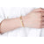 Letter Sunshine Adjustable Bangle Bracelet in 24K Gold - Ables Mall