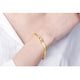Numbers 5201314 Love You Forever Chain Bracelet in 24K Gold