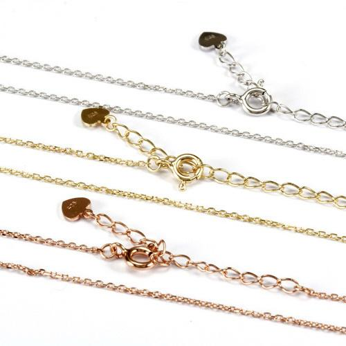925 Sterling Silver Cable Chain 45cm Factory Wholesale R2N3S21019